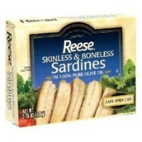 Reese B80463 Reese Plain Sardines In Olive Oil -10x4.37 Oz
