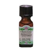 Peppermint Pure Essential Oil - 0.5 fl oz - Case of 3 by Aura Cacia