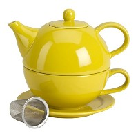 Tea for One with Infuser イエロー 1500111