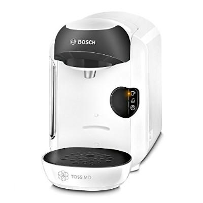 Tassimo by Bosch T12 Vivy Coffee Hot Drinks and Hot Chocolate Tea Latte Cappuccino Machine - White...