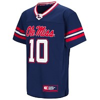 "ミシシッピOle Miss Rebels NCAA "" Hail Mary Pass "" Youth Football Jersey"