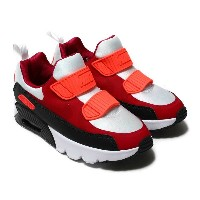 NIKE AIR MAX TINY 90 (PS)(ナイキ エア マックス タイニー 90 PS)WHITE/NOBLE RED-ANTHRACITE-SOLAR RED【キッズ スニーカー...