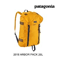 2018 PATAGONIA パタゴニア バックパック ARBOR PACK 26L RGBY RUGBY YELLOW