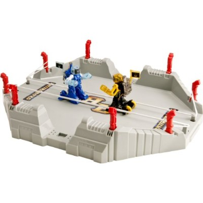 Tomy トミー バトロボーグ バトルアリーナ ブルー・イエロー Battroborg 3-in-1 Battle Arena, Blue and Yellow