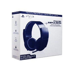 【リファビッシュ】SONY PS3 Wireless Stereo Headset PULSE IMPULSION