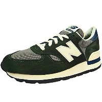 New Balance M990 CERI Dワイズ ニューバランス MADE IN USA DARK GREEN/GRAY/NAVY/OFF WHITE アメリカ製 (27.5cm) [並行輸入品]
