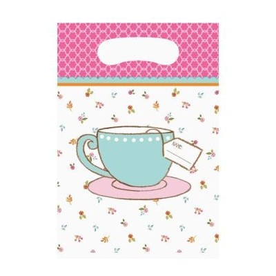 Tea Time Party Treat Bags ( 8 ct )