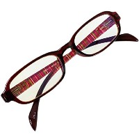 Eco Ride World 老眼鏡 ブルーライト カット 男性 女性 保証書付 PrePiar BL Cutter 80 (レッド, +2.0) rg-007