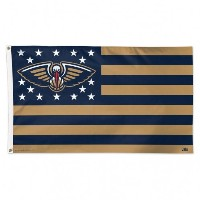 New Orleans Pelicans NBAアメリカ国旗3x 5足