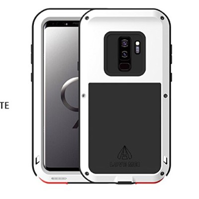 Galaxy S9 Plus Warrior Love Mei Case, Awesome Aviation Aluminum Metal Anti-Drop Cover, TAITOU Cool...