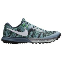 (取寄)ナイキ メンズ ズーム テラ カイガー 4 Nike Men's Zoom Terra Kiger 4 Blue Grey White Diffused Blue Rage Green...