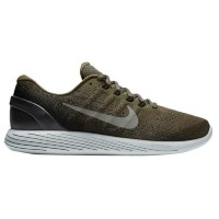 (取寄)ナイキ メンズ ルナグライド 9 Nike Men's LunarGlide 9 Medium Olive Dark Stucco Black