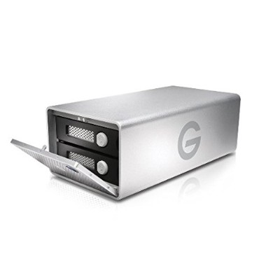G-Technology(HGST) G-RAID Removable Thunderbolt 3 USB-C 外付けハードディスク8000GB【5年保証】 0G05751AZ
