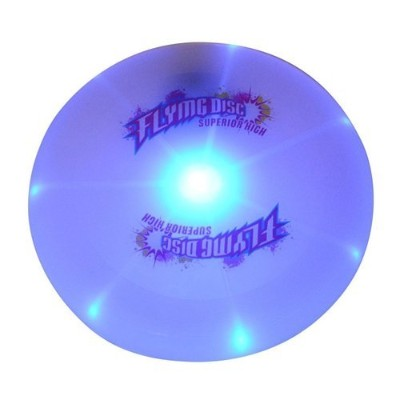 Sport Disc CFTech LED Flying Disc Light Up Frisbee Glow in the Dark for Night Games,185 Gramme,...