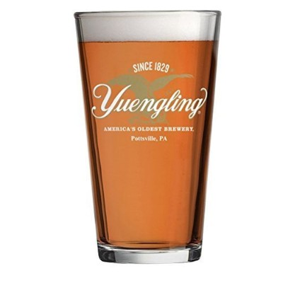 Yuengling Breweryイーグルロゴsince 1829 Beer Pint Glass by Yuengling