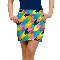 LoudMouth Ladies Peaches & Cream StretchTech Skort【ゴルフ レディース>スコート】