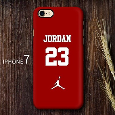 RONNEY'S AIR JORDAN BASKETBALL HEROS SOFT TPU Case for Apple iPhone 7 & iPhone 8 (JD 8)