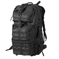 Rebel Tactical dkc477Assaultバックパック( 3日バグアウトバッグ/ Military MOLLE Daypack /狩猟キャンプアウトドアハイキングペイントボールAirs...