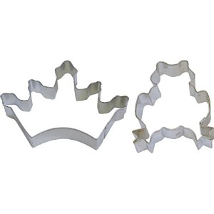 2Piece FrogクラウンティアラPrinceプリンセスCookie Cutters