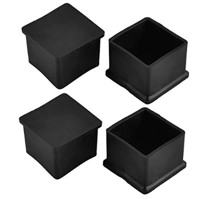 Flyshop Chair Leg Caps Furniture Table Covers Floor Protectors Rubber Square Legs 8 Pack,30mm,1.18...