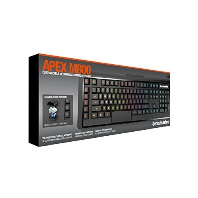 SteelSeries Apex M800 Mechanical Gaming Keyboard JP 日本語配列ゲーミングキーボード 64179