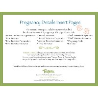 Tessera Baby Books Baby Memory Book Insert Pack, Pregnancy Details by Tessera Baby Books