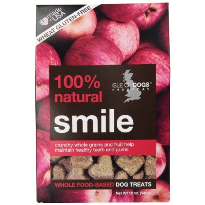 Isle of Dogs 100% Natural Smile Dog Treats by Isle of Dogs