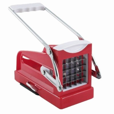 Red French Fry Potato & Vegetable Cutter Chipper