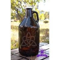 Celtic Trinity Knot with Heart Beer Growlerギフト