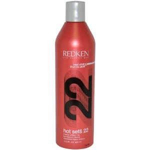 by Redken HOT SETS 22 THERMAL SETTING MIST REFILL MAXIMUM CONTROL 16.9 OZ (OLD PACKAGING) by REDKEN