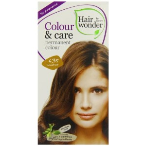 Colour and Care- 6.35 Hazel Nut 3.50 Ounces by Hair Wonder by Nature