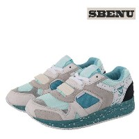[sbenu] common E-line lagoon sports shoes (E-011MS) mint shower