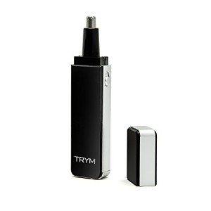 TRYM Nose Hair Trimmer with LED Grooming Light for Precision Trimming - Sleek and Premium Design...