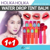 [HOLIKAHOLIKA] ★1+1★ WATER DROP TINT LIP BALM 8 COLORS / WATER 40% FRUIT COMPLEX