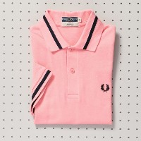 【MP STORE エムピー ストア】 【ユニセックス】【FRED PERRY】M-2シャツ ピンク レディース
