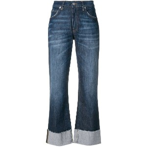 Department 5 faded cropped jeans - ブルー