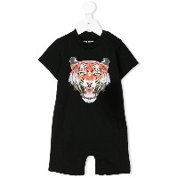 Marcelo Burlon County Of Milan Kids tiger print T-shirt - ブラック