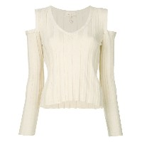 Romeo Gigli Vintage cold shoulders ribbed blouse - Unavailable