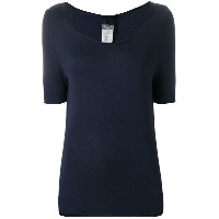 Kristensen Du Nord scoop neck T-shirt - ブルー