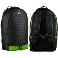 nike ナイキ 【エア・ジョーダン】 JORDAN RETRO 13 バックパック(Black/Metallic Altitude Green) Jordan Retro 13 Backpack...