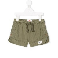 American Outfitters Kids contrast-stitch drawstring shorts - グリーン