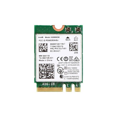 Lenovo純正 00JT481/00JT489/00JT530/00JT532 Intel Dual Band Wireless-AC 8260 5GHz/2.4GHz 802.11ac/agn...