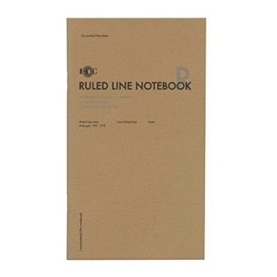 A5スリム ファンクションノート RULED LINE NOTEBOOK(横罫ノート) NOTE-A