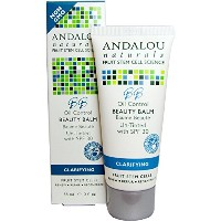 Andalou Naturals, Clarifying BB Oil Control Beauty Balm, Un-Tinted with SPF 30, 2 fl oz (58 ml)