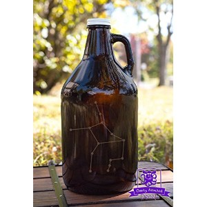 Virgo ConstellationビールGrowlerギフト