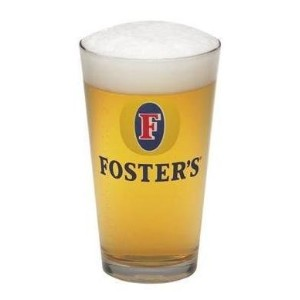 Foster 's Beer Pint Glass新しい
