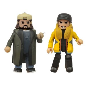 ☆春の特別企画☆エントリーで当店全品ポイント5倍!【Diamond Select Toys Jay & Silent Bob Strike Back Minimates Action Figure...