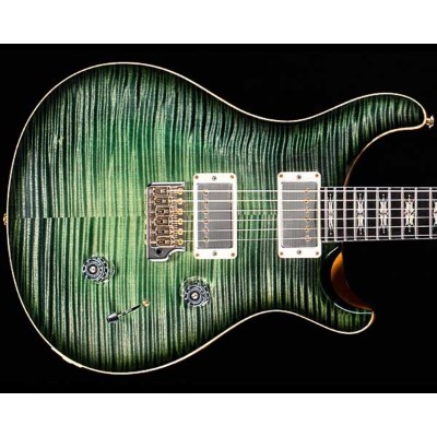 PRS Private Stock Guitar of the Month October 2016 Lotus Knot Custom 24 Sage Glow Smoked Burst