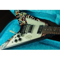 Gibson Custom Shop Inspired by Series Jimi Hendrix Psychedelic Flying V【海外直輸入USED品】