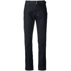 Tom Ford belted waist jeans - ブルー